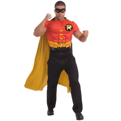 Adult Robin Muscle Chest Shirt Costume