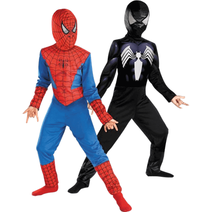 Kids Reversible Ultimate Spider-Man Costume