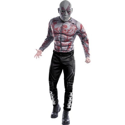 Adult Deluxe Drax the Destroyer Costume