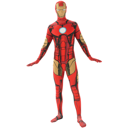 Adult Iron Man Second Skin Costume