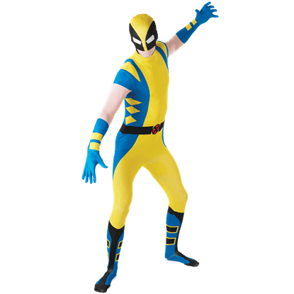 Adult Wolverine Second Skin Costume