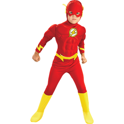 Boys Deluxe Flash Muscle Costume