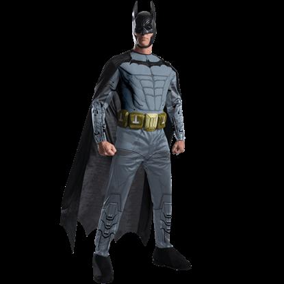 Adult Arkham Deluxe Batman Costume