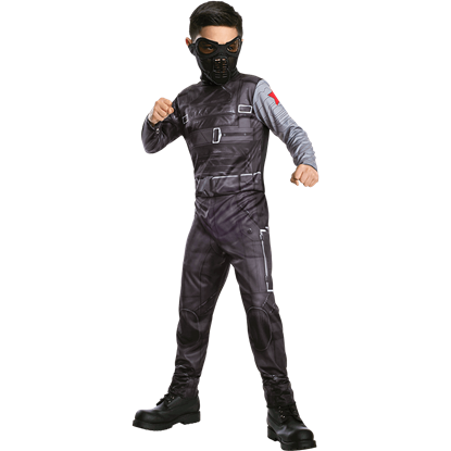 Kids Winter Soldier Jumpsuit Costume