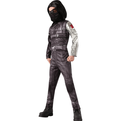 Kids Winter Soldier Costume