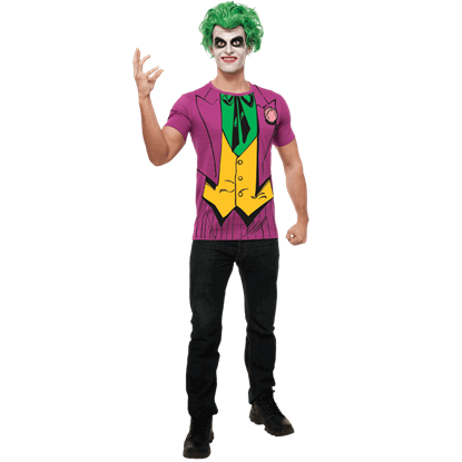 Adult Joker Pinstripe Suit T-Shirt