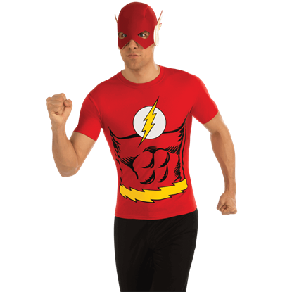 Adult The Flash T-Shirt With Mask