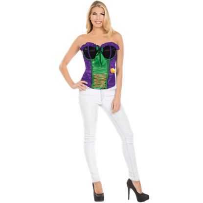 Adult Joker Costume Corset