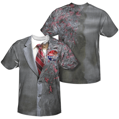 Two-Face Burned Suit T-Shirt