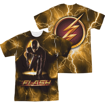 Front and Back The Flash Bolt T-Shirt