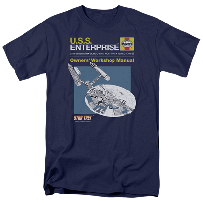 Star Trek Enterprise Manual T-Shirt