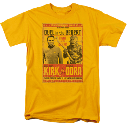 Star Trek Kirk vs. Gorn T-Shirt
