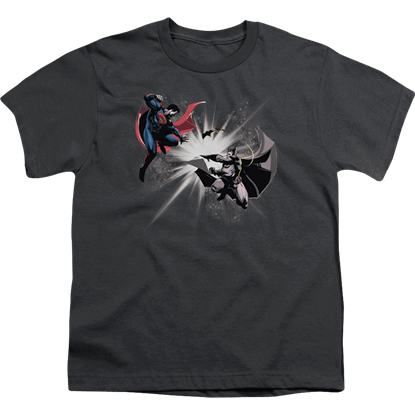 Batman v Superman Fight Burst Youth T-Shirt