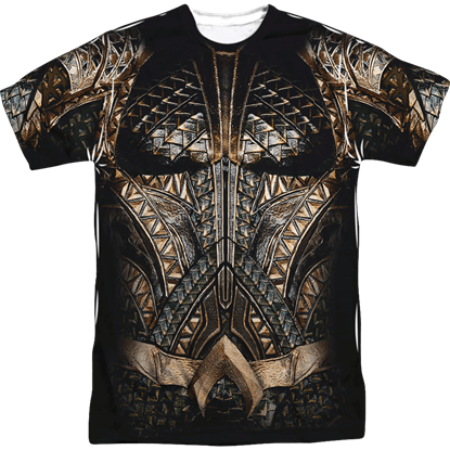 Justice League Aquaman Uniform T-Shirt