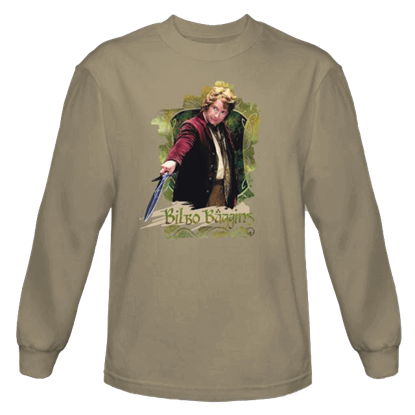 Bilbo Baggins Long Sleeved T-Shirt