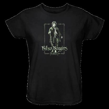 Bilbo Stare Womens T-Shirt