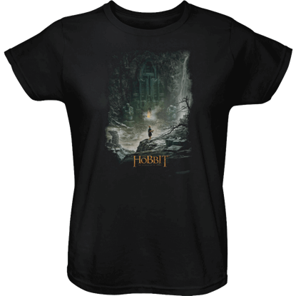 At Smaug's Door Womens T-Shirt