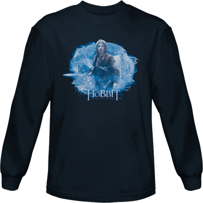 A Tangled Web Hobbit Long Sleeve T-Shirt