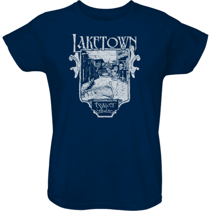 Blue Laketown Womens T-Shirt