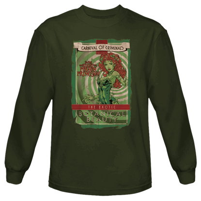 Carnival of Criminals Poison Ivy Long Sleeved T-Shirt