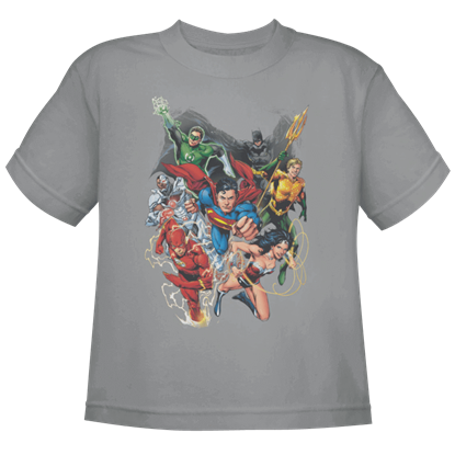 New 52 Justice League 1 Kids T-Shirt