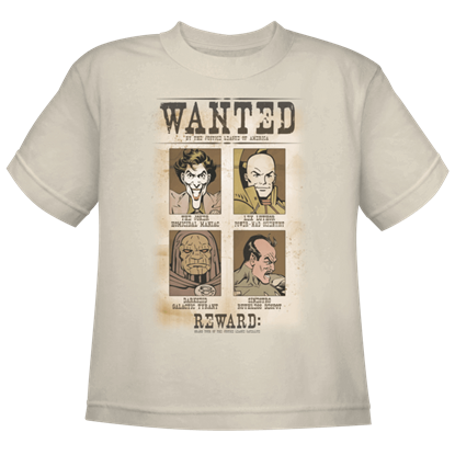 Kids DC's Most Wanted T-Shirt