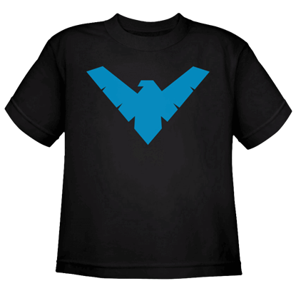 Kids Nightwing Logo T-Shirt