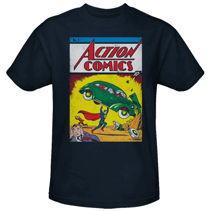 Action Comics Issue 1 T-Shirt