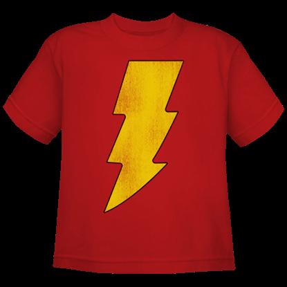 Kids Shazam Logo T-Shirt