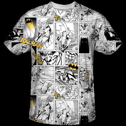 Batman and Joker Comic T-Shirt