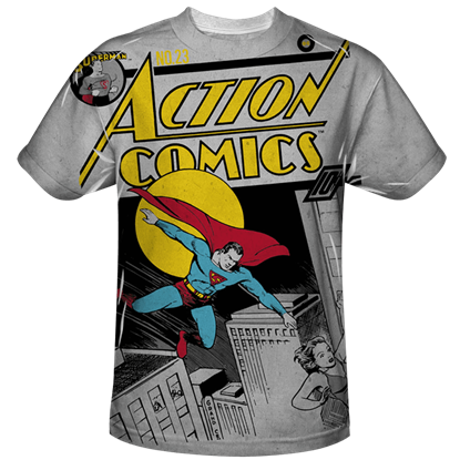 Action Comics Issue 23 Bold T-Shirt