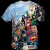 Wrap Around League T-Shirt
