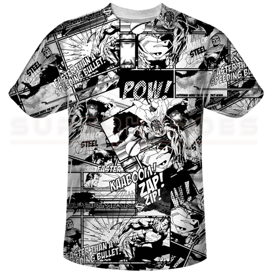 Superman Comic Strips T-Shirt