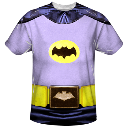 Adam West Batsuit T-Shirt