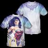 New 52 Wonder Woman Close-Up T-Shirt