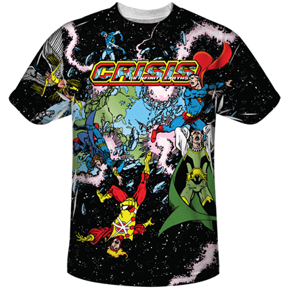 Crisis on Infinite Earths T-Shirt