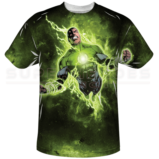 25cebf4c Green Lantern John Stewart T-Shirt - ZB-3938 at Superhero T-shirts ...