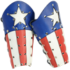 Patriotic Hero Arm Bracers