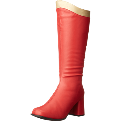 Womens Super Heroine Boots