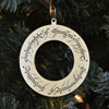One Ring Gold Ornament Set