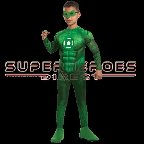 Kids Deluxe Hal Jordan Costume