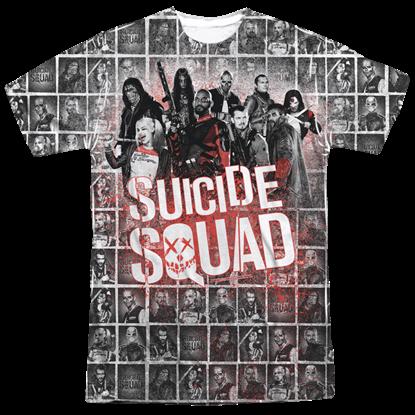 Suicide Squad Mugshot Splatter T-Shirt