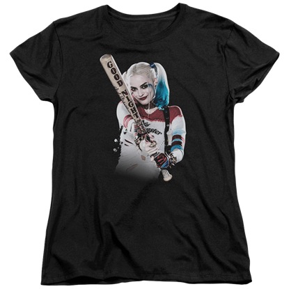 Suicide Squad Harley Bat At You Womens T-Shirt