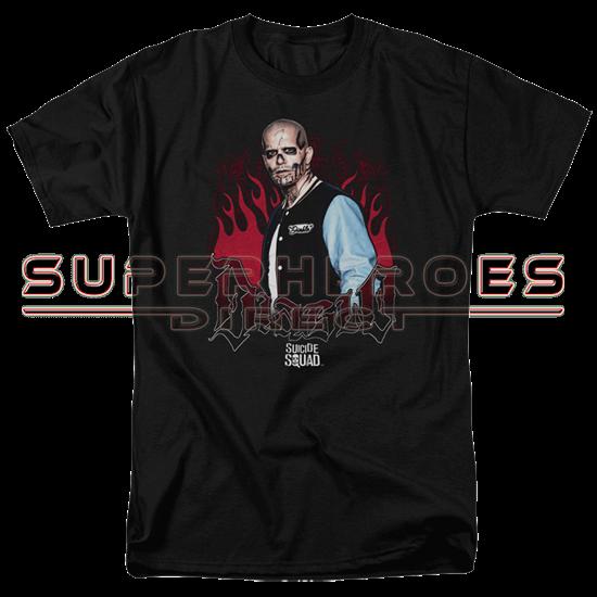 Suicide Squad Diablo Flames T-Shirt