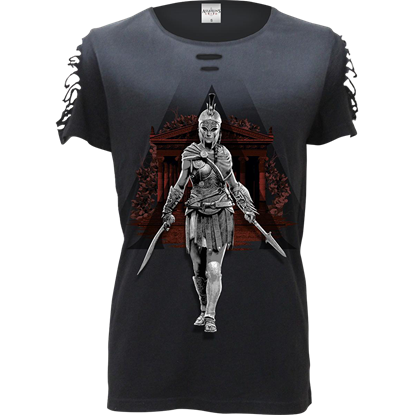 Assassins Creed Odyssey Warrior Kassandra Womens Top