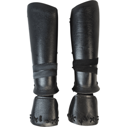 Leather Samurai Bracers