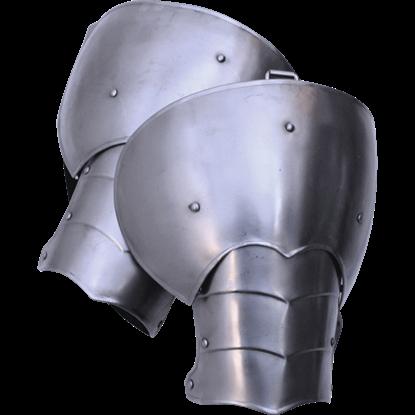 Large Steel Markward Spaulders