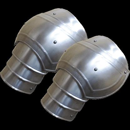 Large Steel Adam Spaulders