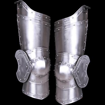 Steel Balthasar Full Leg Guards