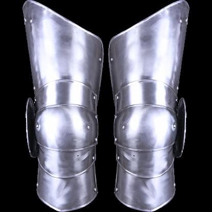 Steel Gustav Full Leg Guards
